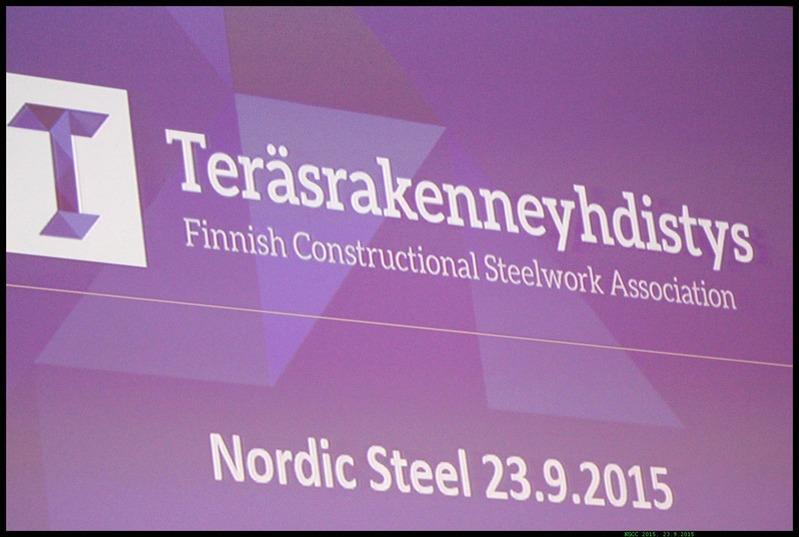 Nordic Steel 2015 -luentoaineisto