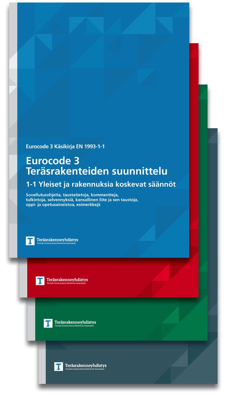 Lisää Eurocode 3 kirjoja on saapunut painosta