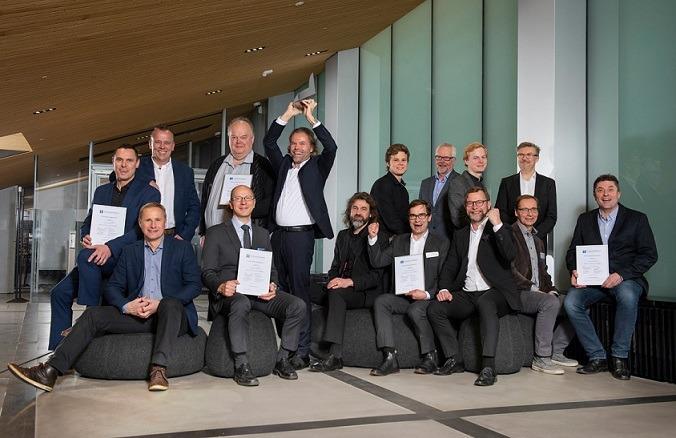 Teräsrakennepalkinto voittajat 2019