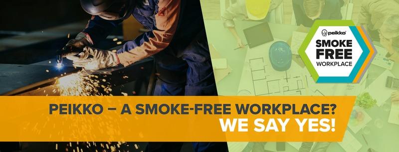 Peikosta tulee savuton työpaikka 2018