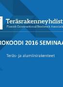 Eurokoodi 2016  Seminaari V Numminen TRY