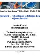 kouhi eurocode nykytilanne - ajankohtaista 1